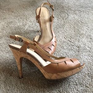 Marc Fisher Nude Heels size 7 1/2
